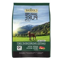 Canidae Grain Free PURE Land with Bison Dry Dog Food