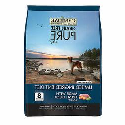 CANIDAE Grain Free PURE Sky Dog Dry Formula with Duck