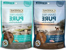 Canidae Grain Free Pure Heaven Dog Biscuits 2 Flavor Variety