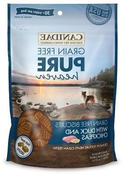 Canidae Grain Free Pure Heaven Dog Biscuits With Duck & Chic