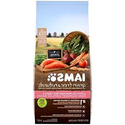IAMS GRAIN-FREE NATURALS Adult With Salmon and Red Lentils R