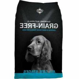 Diamond Naturals Grain Free Real Meat Recipe Premium Dry Dog