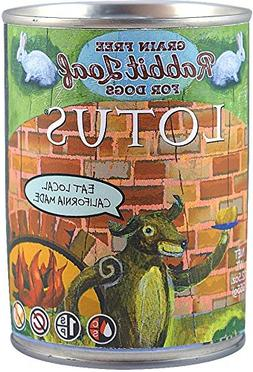Lotus Grain Free Rabbit Loaf Dog Food 12.5oz Can 12 Case