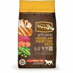 Merrick Grain Free Chicken & Sweet Potato Dry Dog Food, 4 lb