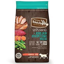 Merrick Grain-Free Real Duck + Sweet Potato Recipe Dry Dog F