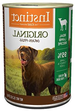 Instinct Original Grain Free Real Lamb Recipe Natural Wet Ca