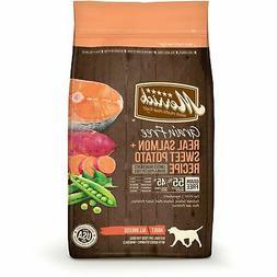 Merrick Grain Free Salmon & Sweet Potato Adult Dog Food, 25