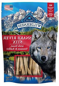 Blue Buffalo Wilderness Grain Free Dog Treats Snake River St