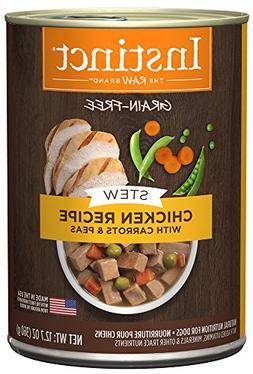 Instinct Grain Free Stews Chicken Recipe with Carrots & Peas