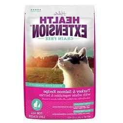 Health Extension Grain Free Turkey & Salmon Recipe, 4-pounds