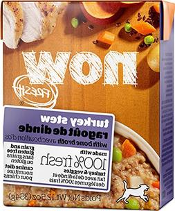 NOW FRESH Grain Free Turkey Stew Dog 12/12.5 OZ