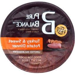 Pure Balance Grain Free Turkey & Sweet Potato Wet Dog Food,