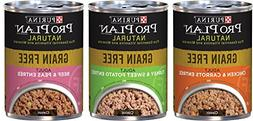 Purina Pro Plan Natural Grain Free Wet Adult Dog Food Variet