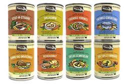 Merrick Grain Free Wet Dog Food Variety Pack, 8 Flavors, 13.