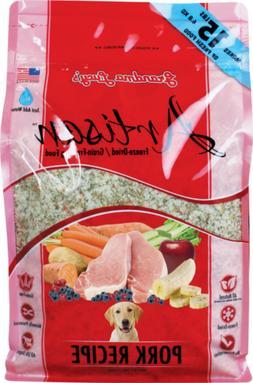 Grandma Lucy's Artisan Grain Free Pork Freeze Dried Dog Food