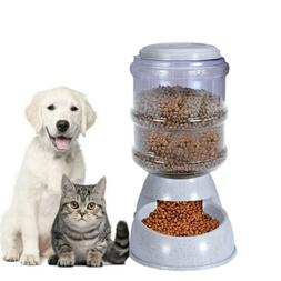Gravity Pet Feeder Automatic Cat Dog Food Dispenser Storage