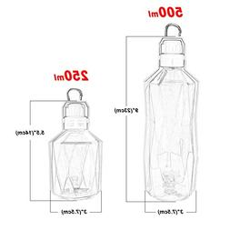 Fashionwu Hanging-Type Pet Dog Water Bottle Foldable Plastic