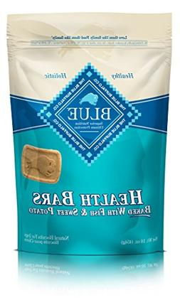 Blue Health Bars Adult Fish & Sweet Potato Biscuits Dog Trea