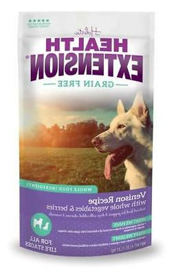 Health Extension Grain Free Venison Recipe Dry Dog Food
