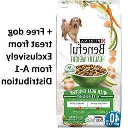 Purina Beneful Healthy Weight With Real Chicken
