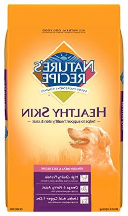 Nature's Recipe Healthy Skin Dog Food, Vegetarian Recipe, BU