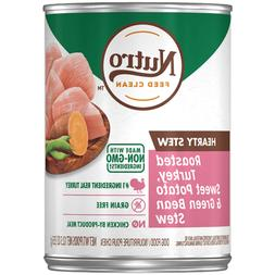 Nutro Hearty Stew Chunky Chicken & Turkey Stew Adult Canned