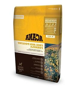 ACANA Heritage Free Run Poultry Dry Dog Food 25 lb. Bag Free