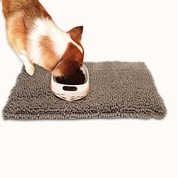 Hevice Dog Doormat Microfiber Door Mat Pet Cat Mats Rugs for