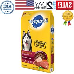 Pedigree High Protein Adult Dry Dog Food- Beef and Lamb- 46.