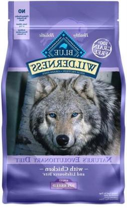 BLUE Wilderness High Protein Grain Free Adult Dry Dog Food T