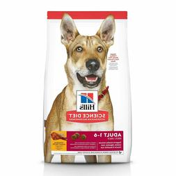 Hill's Science Diet Dry Dog Food, Adult 1 to 6, Chicken & Ba