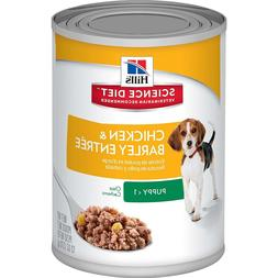 Hill's Science Diet Puppy Chicken & Barley Entree Canned Dog