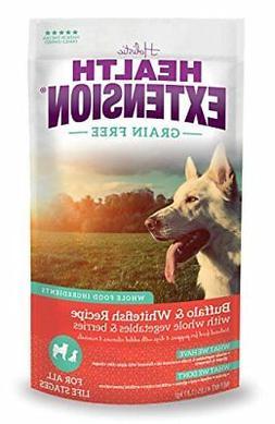 Health Extension Grain Free Buffalo & Whitefish Recipe, 23.5
