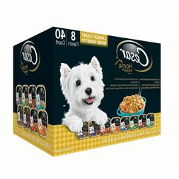 🔥 Cesar Home Delights Wet Dog Food, Variety Pack , 40 *BE