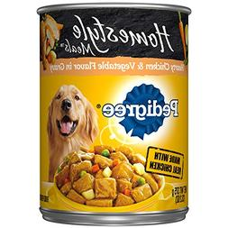 Pedigree Homestyle Meals Adult Canned Wet Dog Food Hearty Ch