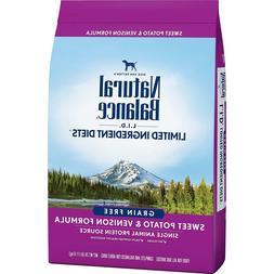 Natural Balance Ingredient Diets Dry Dog Food Sweet Potato V