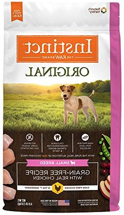 Instinct Original Small Breed Grain Free Recipe with Real Ch