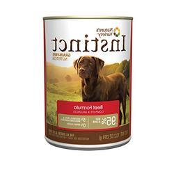Nature's Variety Instinct Grain Free Beef Formula Natural We