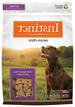 Nature's Variety Instinct Grain Free Biscuits With Rabbit Me