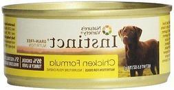 Instinct Grain-Free Canned Dog Food, Chicken Formula, 5.5-Ou