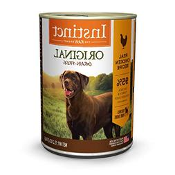 Instinct Grain Free Chicken Formula Natural Wet Canned Dog F