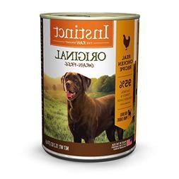 Instinct Grain Free Chicken Formula Natural Wet Canned Dog F