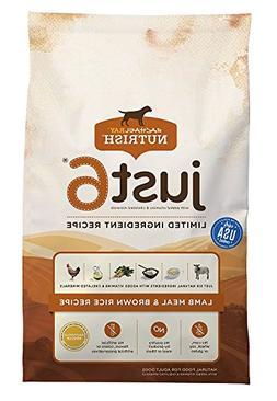 Rachael Ray Nutrish Just 6 Natural Dry Dog Food, Lamb Meal &
