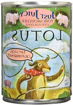 Lotus Just Juicy Grain-Free Pork Shoulder Stew Canned Dog Fo