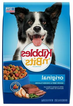 Kibbles 'N Bits Original Dry Dog Food Original Savory Beef &