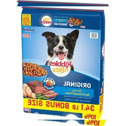 Kibbles 'N Bits Original Dry Dog Food Savory Beef & 34.1 Pou