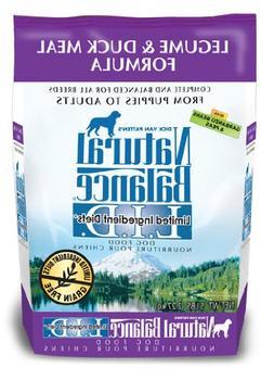Natural Balance L.I.D. Limited Ingredient Diets Legume and D