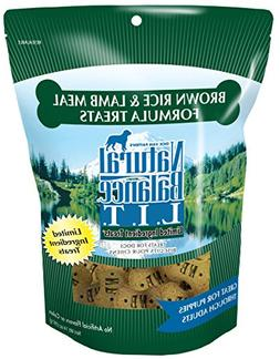 Natural Balance L.I.T. Limited Ingredient Dog Treats, Brown
