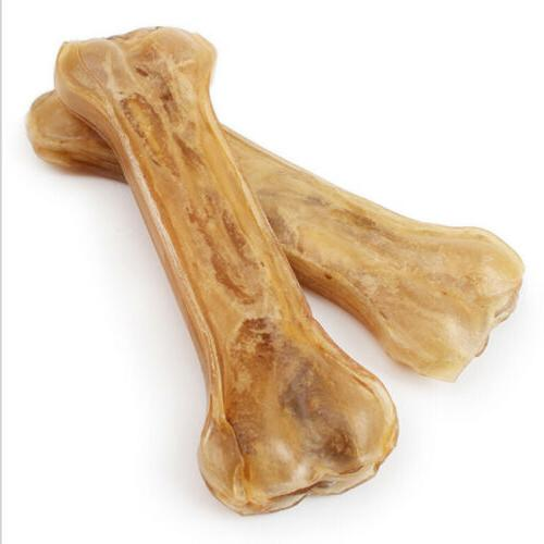 2Pcs/set 5inch Pet Treat Dog Food Chew Bones New