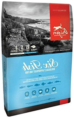 Orijen 6 Fish Grain-Free Formula Dry Dog Food 4.5 lb